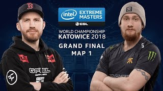 CS:GO - FaZe vs. Fnatic [Cache] Map 1 - GRAND FINAL - IEM Katowice 2018