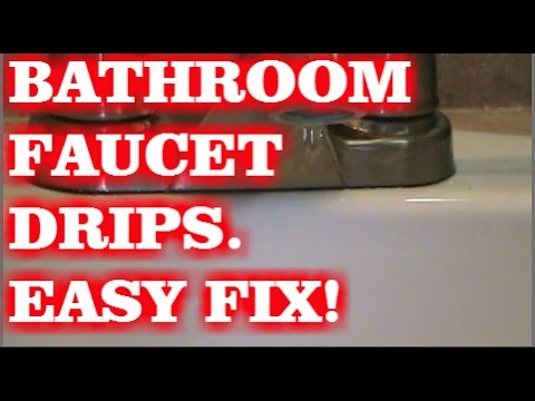 faucet-dripping-in-bathroom-(easy-fix)