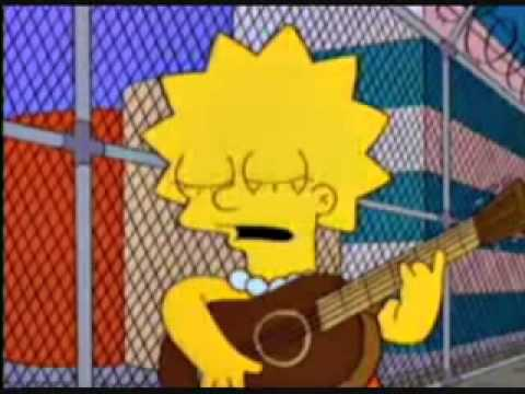 Lisa cantando Union strike folk song