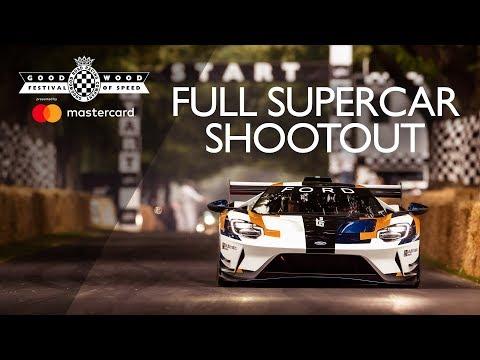 Goodwood Festival of Speed 2019 Full Supercar Shootout