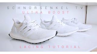 ec97124f6d37a Lacing Tutorial Adidas Ultra Boost 1.0 - 2.0 - 3.0 - Uncaged - 100 Sub Free