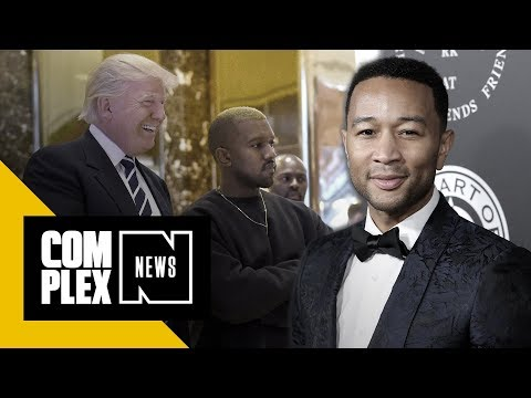 John Legend Thinks Kanye Sees Certain Aspects of Himself in Donald Trump