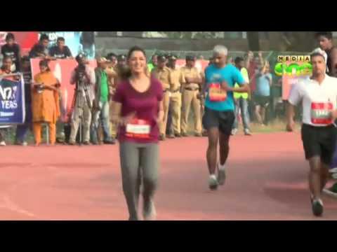 Celebrity half marathon Times - Lunges and Lycra