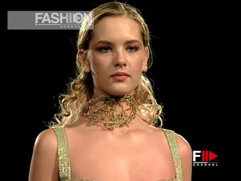 ELIE SAAB Haute Couture Spring Summer 2000 Paris - Fashion Channel