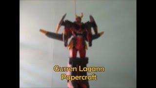 Gurren Lagann  - Papercraft #003 - (Tengen Toppa Gurren Lagann)