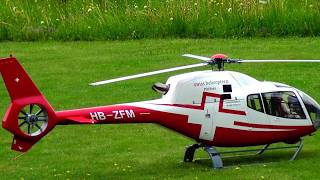 RC TURBINE SCALE EUROCOPTER EC-120B PFAFFNAU MODEL HELICOPTER