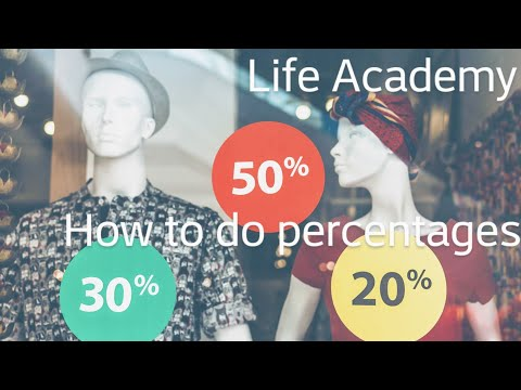 How To Do Percentages With Ease