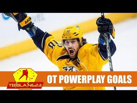 NHL Overtime Powerplay Goals