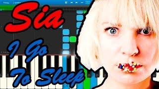 Sia I Go To Sleep реклама шоколада Dove Piano Tutorial Synthesia