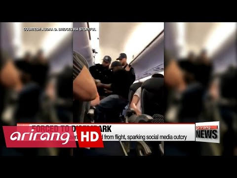 United Airlines passenger dragged from flight, sparking social media outcry