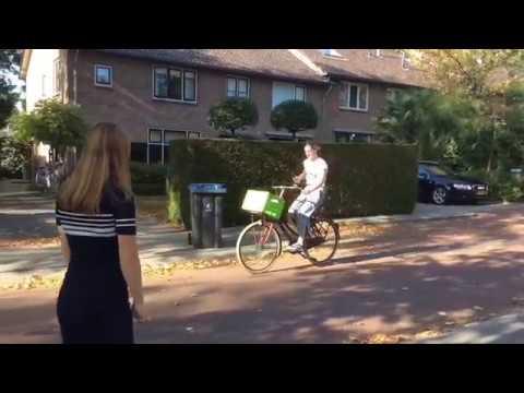 """Beat the Street challenge #7 - """"Reageer op telefoongebruik bij andere fietsers"""""""