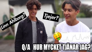 HUR MYCKET TJÄNAR JAG?   Q&A MED JULIAN
