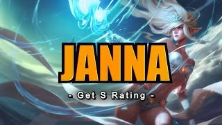 How to get S Grade with Janna
