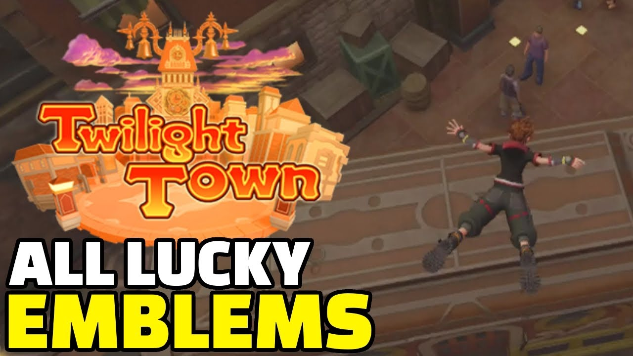 Kingdom Hearts 3 All Lucky Emblems Location Guide Twilight Town