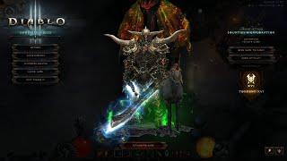 Diablo 3 Season 19 Day 1 GR 109 Para 650 Rend WW Barb No Coe Solo only!!!!!