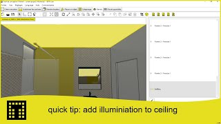 Quick tip: Add illuminiation to ceiling