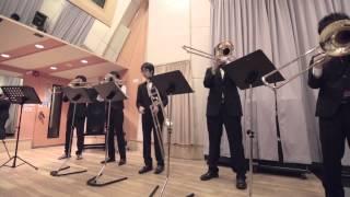 【トロンボーン五重奏】やらないか変奏曲【やらないかルテット】