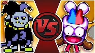 JEVIL vs MARX! (Nintendo vs Undertale / Deltarune Animation) | CARTOON FIGHT CLUB