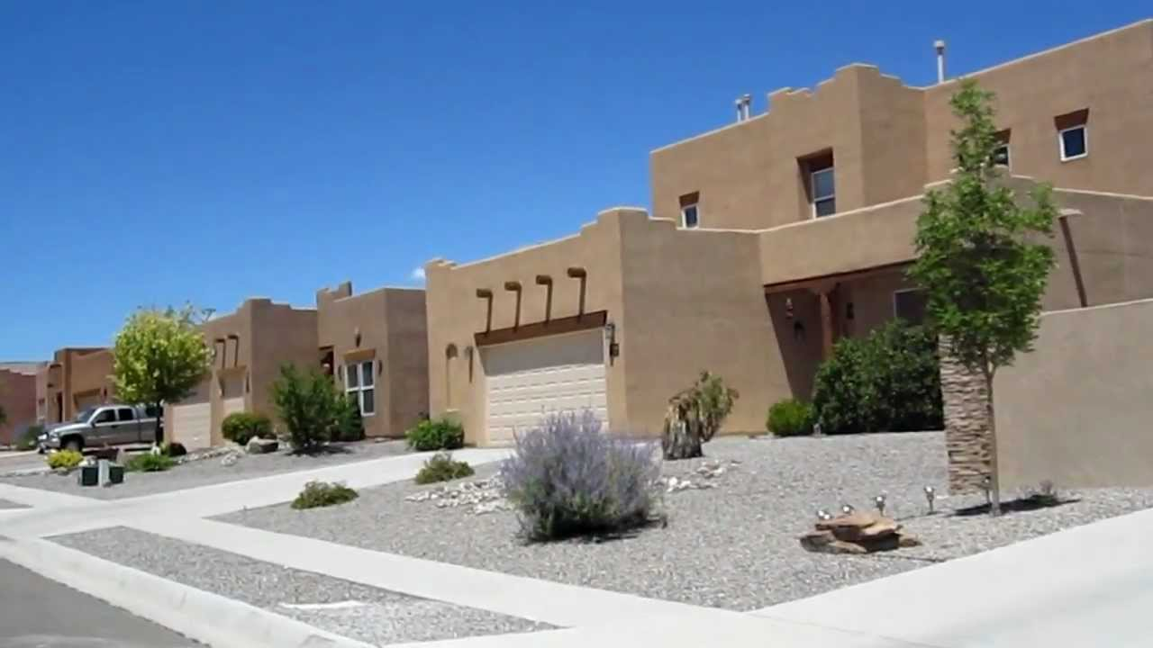 Modern pueblo style houses in rio rancho new mexico usa for Modern adobe houses