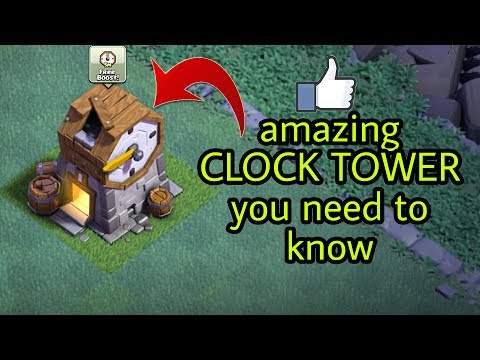 Clash Of Clans amazing CLOCK TOWER all you need to know