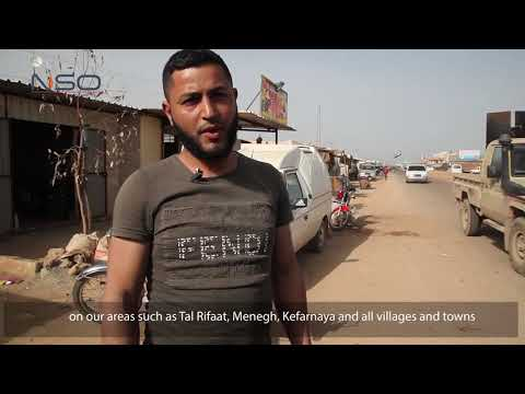 Displaced civilians from Tal Rifaat demand Olive Branch to retake their areas