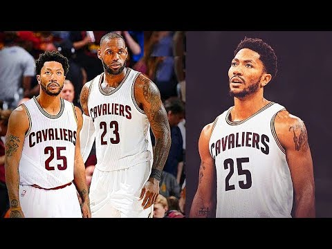 LeBron James and Derrick Rose on the Cavaliers First Game! Derrick Rose 1st NBA Game with Cavs!