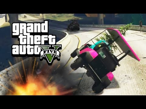CART ATTACK - GTA 5 Gameplay