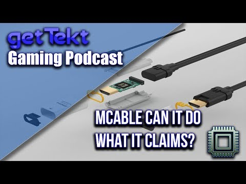 Gaming Podcast : mCable Remove Aliasing with an HDMI Cable