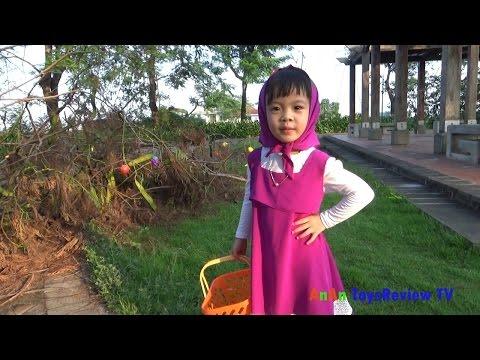 Cô bé siêu quậy thu hoạch rau củ quả ❤ AnAn ToysReview TV ❤