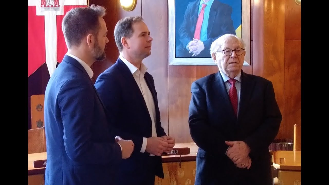3 Aarhus borgmestre mødes