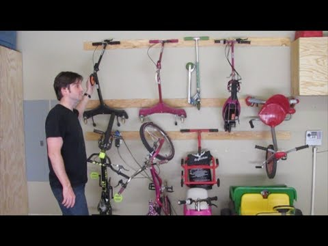 My Woodworking Journey - How to Make an Outdoor Toy Storage System