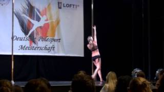 my first pole dance competition :) DPSM 2014