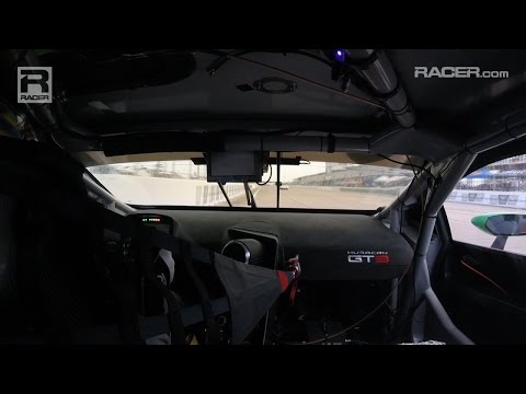 RACER: Madison Snow Lamborghini Huracan at Sebring 2016