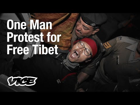 Arrested 16 Times, Tibetan Activist Tsundue Continues to Protest Against China