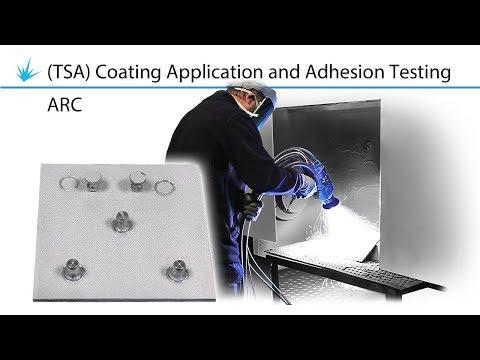 Thermal Spray Aluminium TSA Coating Application And Adhesion Testing  - ARC