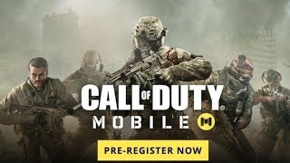 CALL OF DUTY MOBILE OFICIAL ANDROID Y IOS