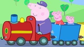 Peppa Pig Nederlands   3 Afleveringen - Opa's Kleine Trein #PeppaPigNederlands