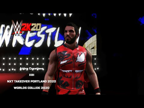 Johnny Gargano NXT Takeover Portland & Worlds Collide 2020 Attires Now On Community Creations (XB1)