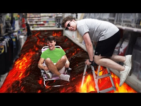 THE FLOOR IS LAVA (EXTREME EDITION)