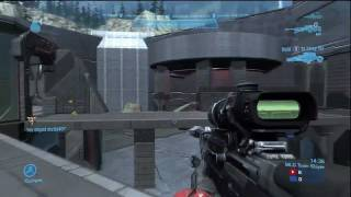 Snip3down (An MLG Pro) :: Halo: Reach Perfection Gameplay With an Overkill (Sanctuary Team Slayer)