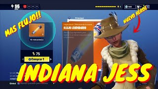 FORTNITE NEW HERO AND MORE FLOW TO SAVE THE WORLD