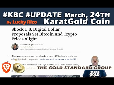DIGITAL US DOLLAR! #BTC #GOLD #KBC In The Spotlight #LuckyRico