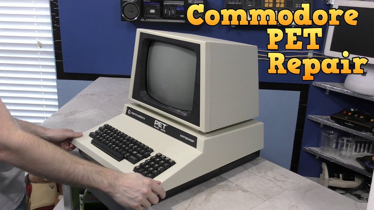 Commodore PET Repair and Restore - YouTube