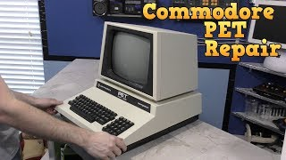 Commodore PET Repair and Restore