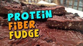 Healthy Protein Fiber Fudge Recipe