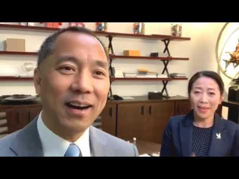 2019年4月17日文貴先生和SARA女士一同直播