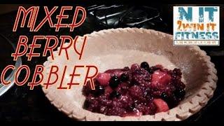 Sweet Berry Cobbler