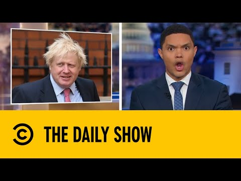 Trevor Noah on Boris Johnson   The Daily Show With Trevor Noah