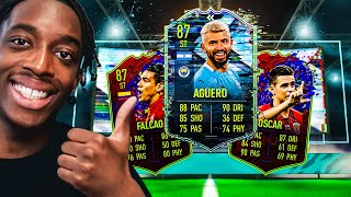 OPENING LIGHTNING ROUNDS PACKS! AGUERO SBC! AND A CRAZY 83+ SBC PACK!