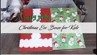 Christmas Eve Boxes for KIds